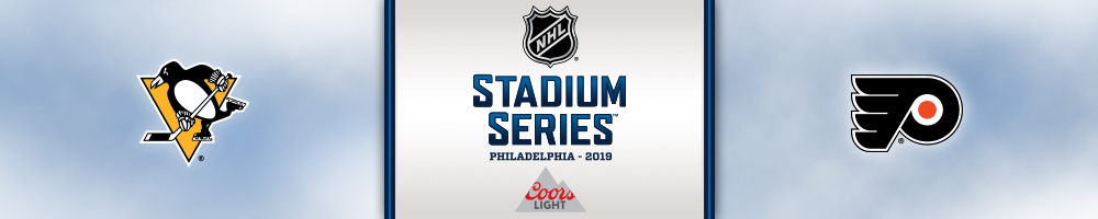 2019 COORS LIGHT NHL STADIUM SERIES LINCOLN FINANCIAL FIELD PITTSBURGH PENGUINS PHILADELPHIA FLYERS