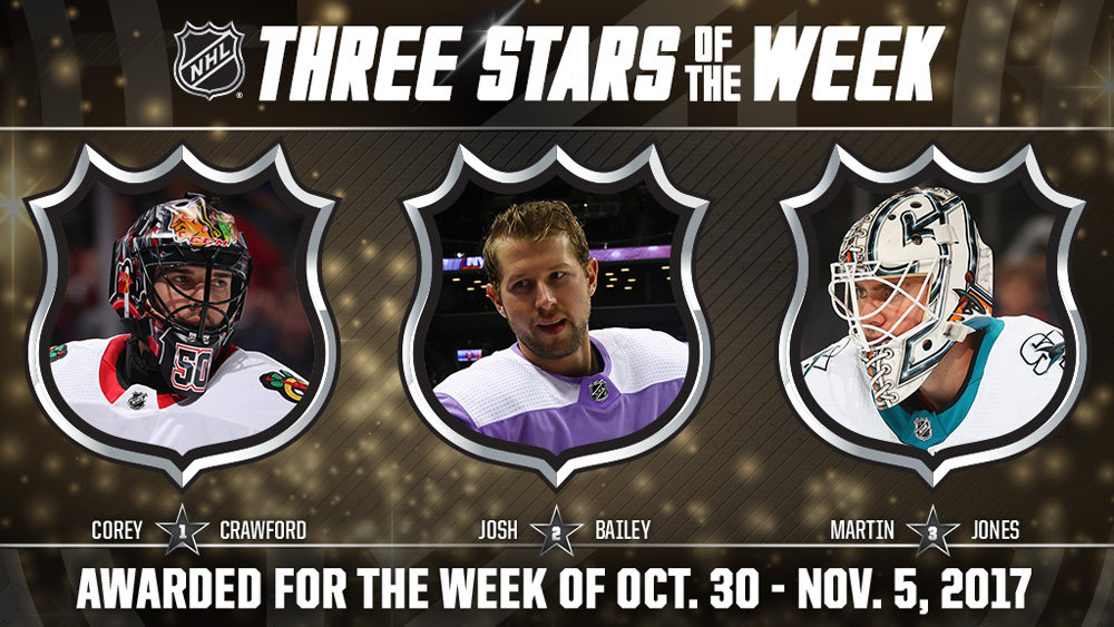 Stars of the Week, Crawford, Bailey, Jones