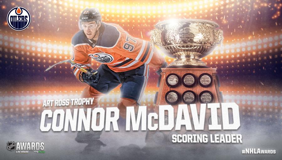 Art Ross Trophy, Connor McDavid