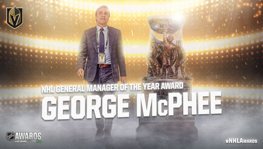 NHL General Manager of the Year Award, George McPhee
