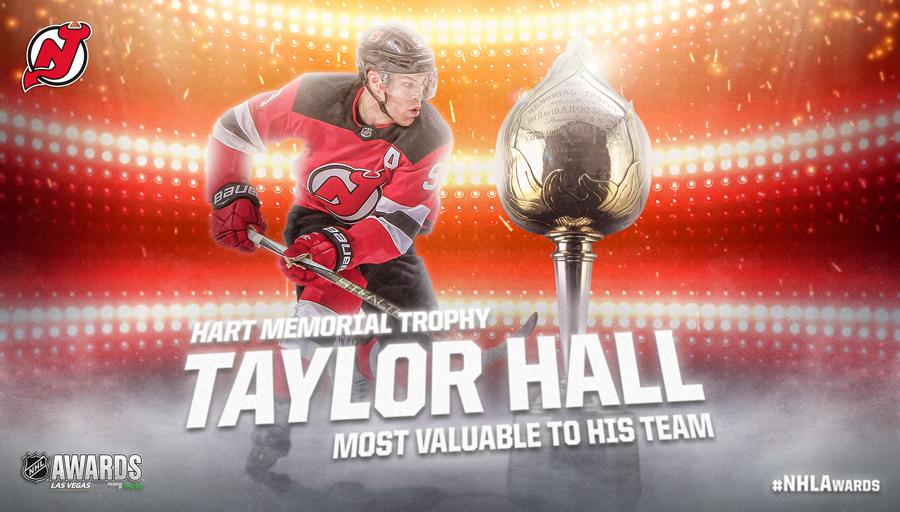Hart Memorial Trophy, Taylor Hall
