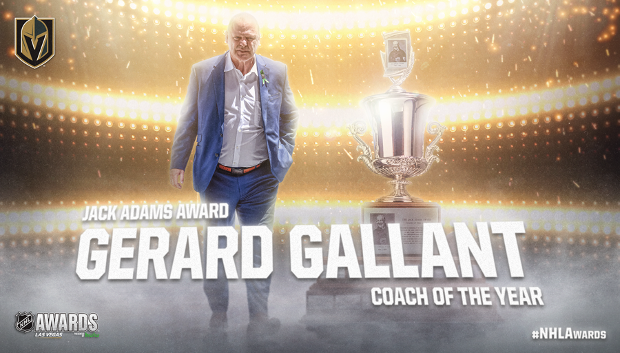 Jack Adams Award, Gerard Gallant