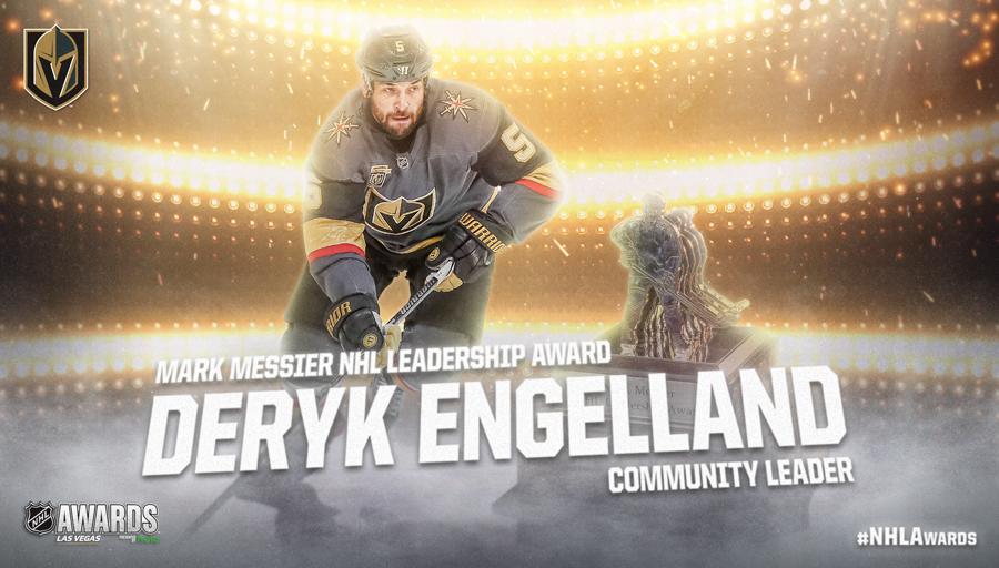 Mark Messier NHL Leadership Award, Deryk Engelland