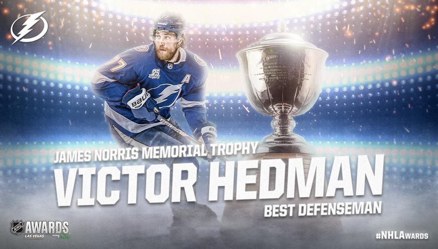 James Norris Memorial Trophy, Victor Hedman