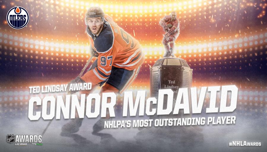 Ted Lindsay Award, Connor McDavid