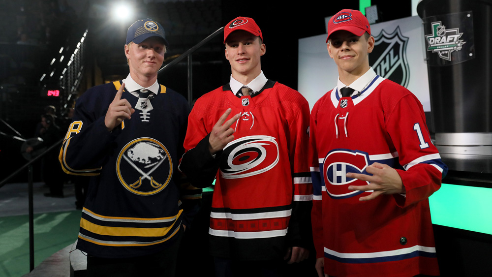 2018 NHL Draft, First Round Notes