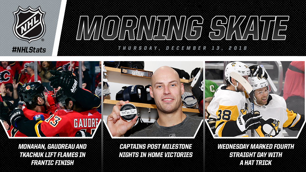 NHL Morning Skate – Dec. 13, 2018