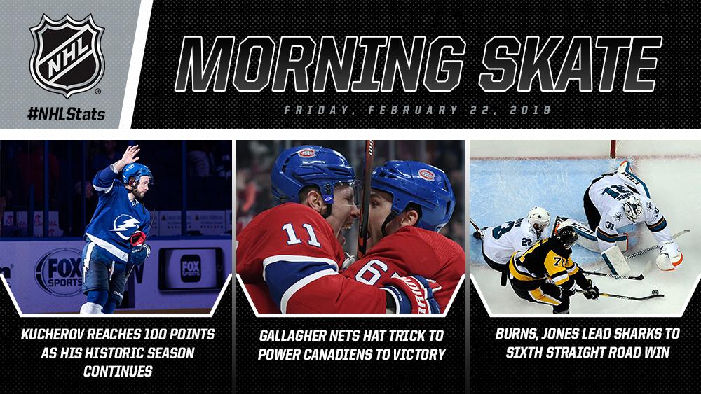 NHL Morning Skate – Feb. 22, 2019