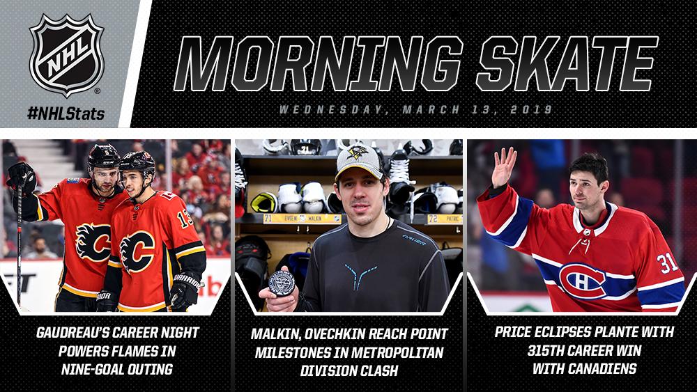 NHL - MORNING SKATE