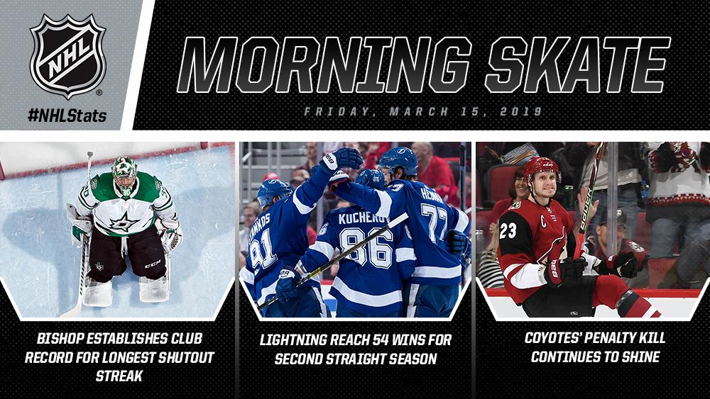 NHL Morning Skate - March 15, 2019