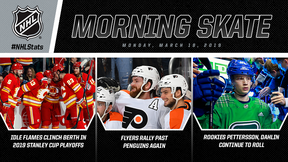 NHL Morning Skate – March 18, 2019
