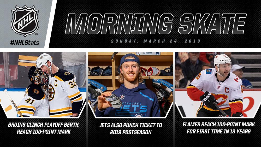 NHL Morning Skate – March 24, 2019