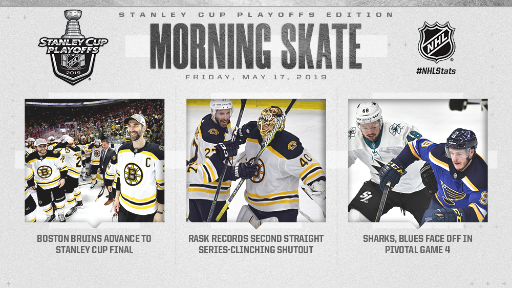 NHL Morning Skate: Stanley Cup Playoffs Edition - May 17, 2019