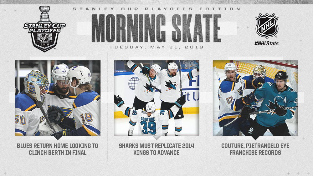 NHL Morning Skate: Stanley Cup Playoffs Edition - May 21, 2019