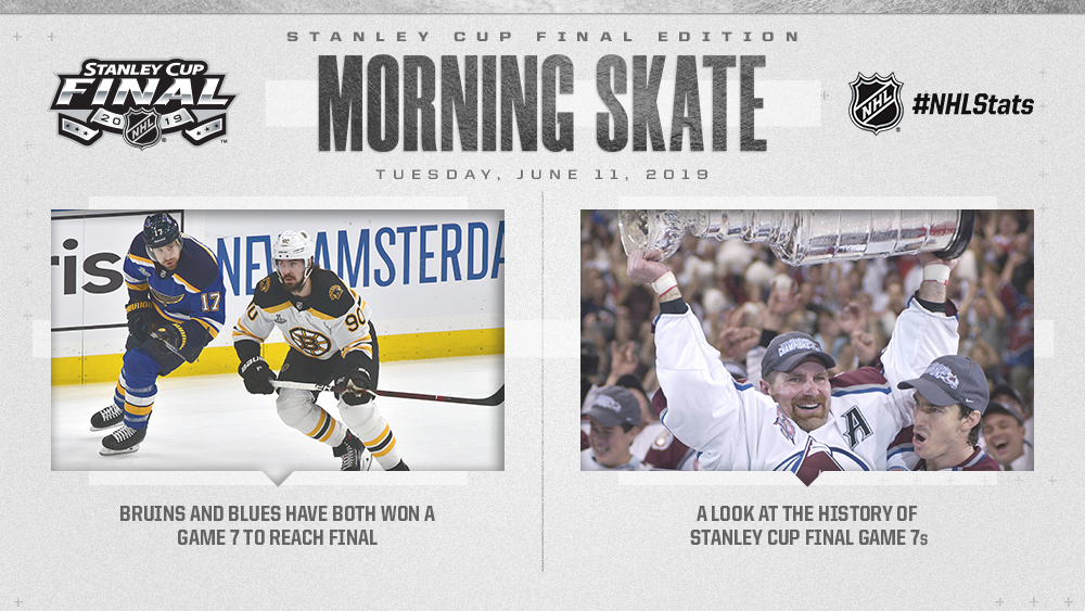NHL Morning Skate: Stanley Cup Final Edition — June 11, 2019