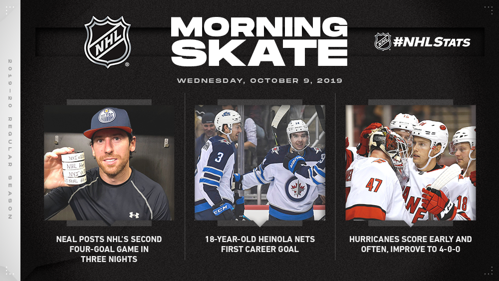 NHL Morning Skate — Oct. 9, 2019