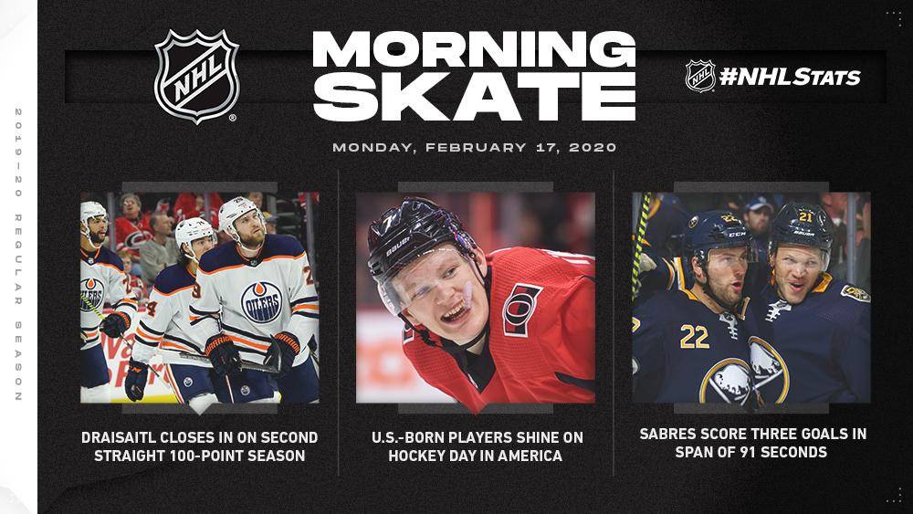 NHL Morning Skate – Feb. 17, 2020