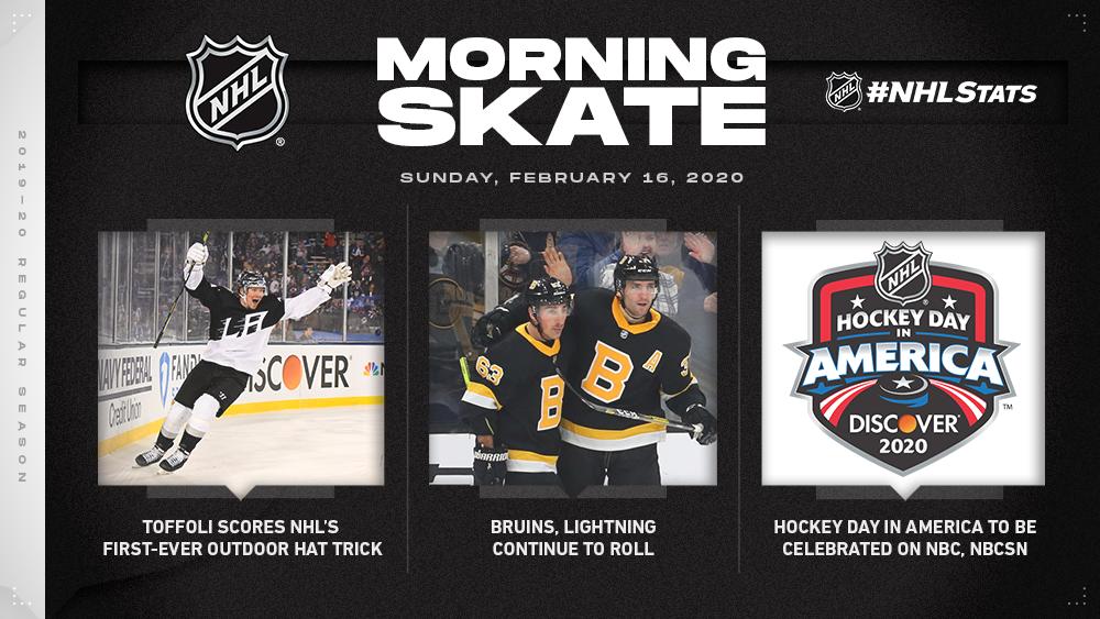 NHL Morning Skate – Feb. 16, 2020