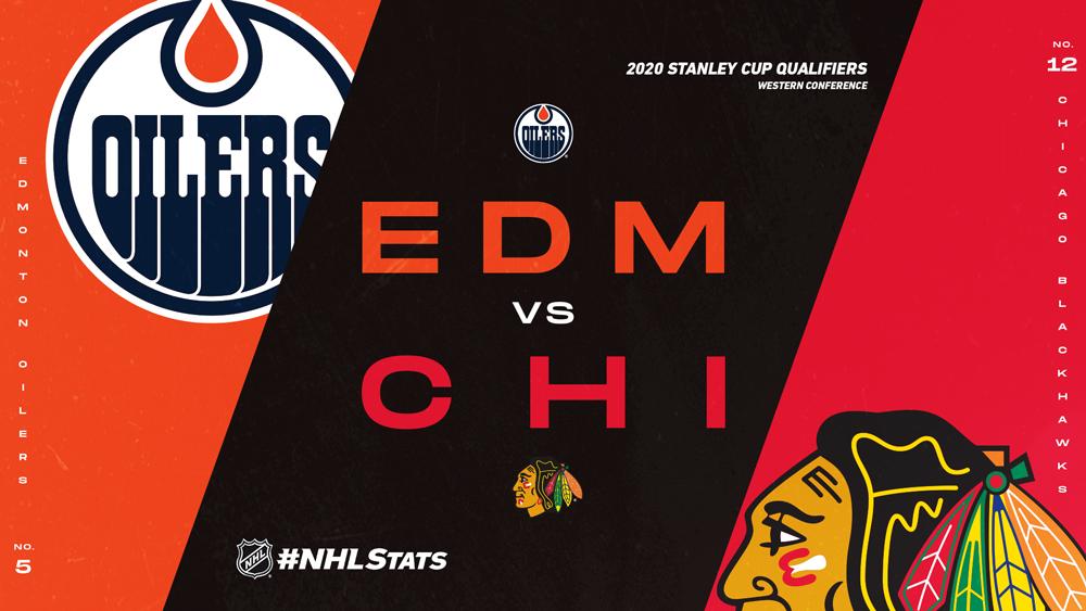 #NHLStats Pack: 2020 Stanley Cup Qualifiers – Edmonton Oilers vs. Chicago Blackhawks