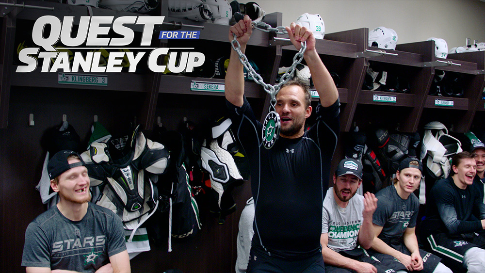 episode three, quest for the stanley cup, docuseries, content