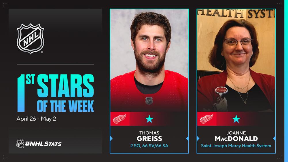 Stars of the Week, Greiss, McDavid, Varlamov